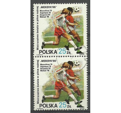 Znaczek Polska 1986 Mi 3028 Fi 2880 Stemplowane