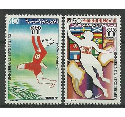 Znaczek Tunezja 1978 Mi 930-931 Czyste **