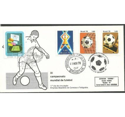 Znaczek Brazylia 1978 Mi 1643-1645 FDC