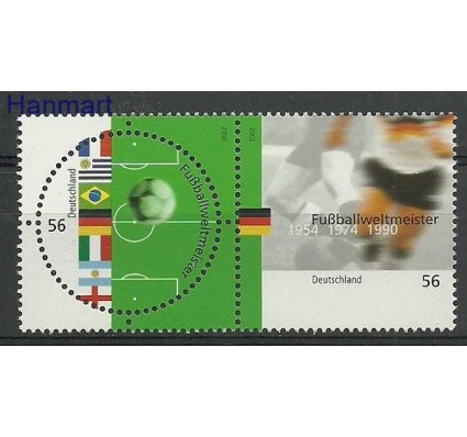 Znaczek Niemcy 2002 Mi par2258-2259 Czyste **