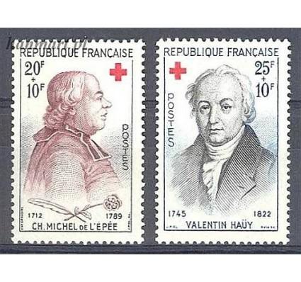 Znaczek Francja 1959 Mi 1270-1271 Czyste **