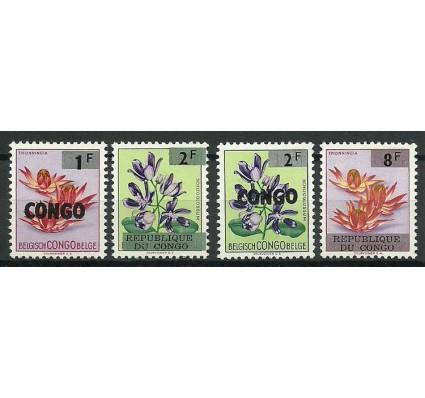 Znaczek Kongo Kinszasa / Zair 1964 Mi 180-182+190 Czyste **
