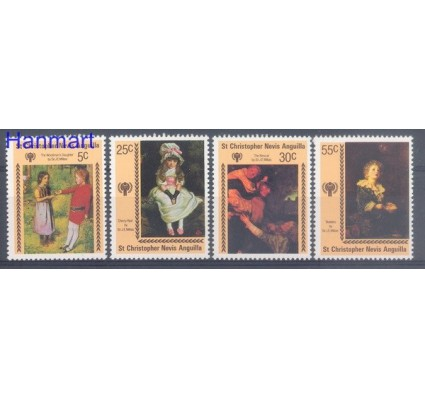 Znaczek St. Christopher Nevis Anguilla 1979 Mi 383-386 Czyste **