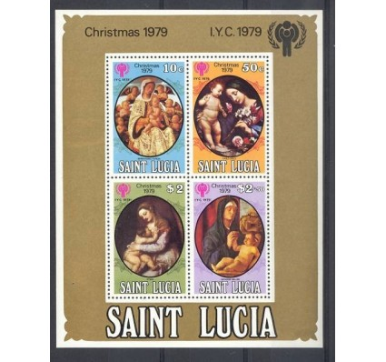 Znaczek Saint Lucia 1979 Mi bl 19 Czyste **