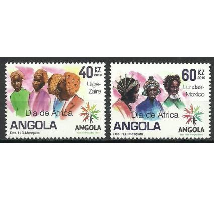 Znaczek Angola 2010 Mi 1840-1841 Czyste **