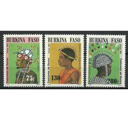 Znaczek Burkina Faso 1991 Mi 1257-1259 Czyste **