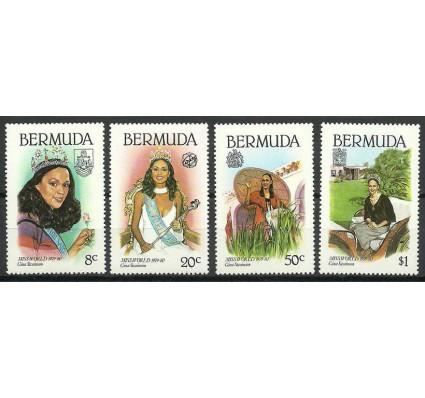 Znaczek Bermudy 1980 Mi 386-389 Czyste **