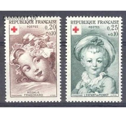 Francja 1962 Mi 1418-1419 Czyste **