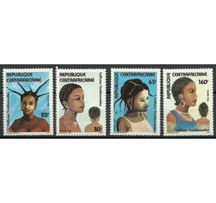 Znaczek Republika Środkowoafrykańska 1986 Mi 1208-1211 Czyste **