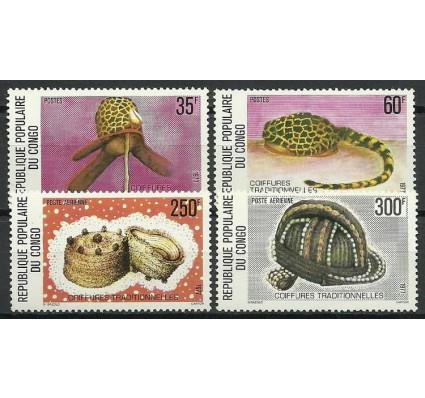 Znaczek Kongo 1977 Mi 570-573 Czyste **