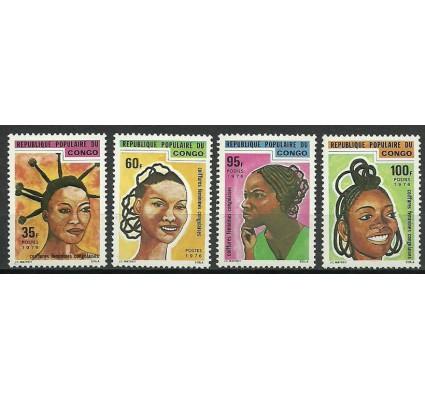 Znaczek Kongo 1976 Mi 531-534 Czyste **