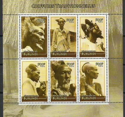 Znaczek Burundi 2010 Mi bl 148 Czyste **