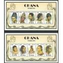 Ghana 1997 Mi ark 2457-2466 Czyste **