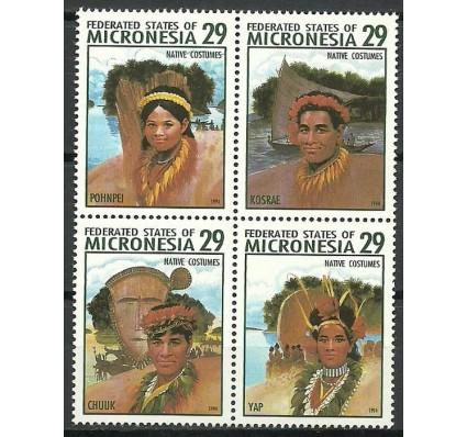 Znaczek Mikronezja 1994 Mi 356-359 Czyste **