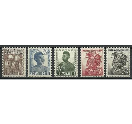 Znaczek Papua Nowa Gwinea 1952 Mi 2-3+5-7 Czyste **