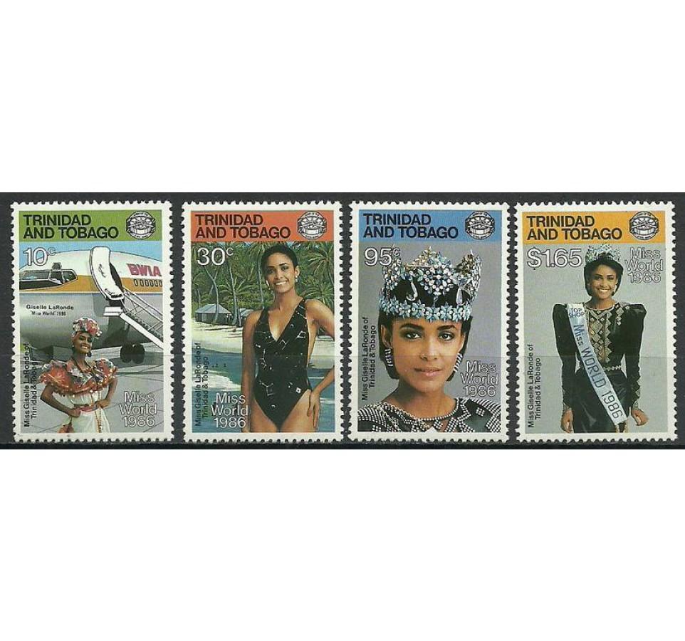 Trynidad i Tobago 1987 Mi 546-549 Czyste **