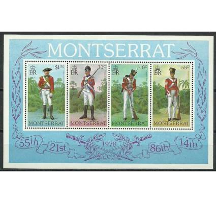 Znaczek Montserrat 1978 Mi bl 17 Czyste **