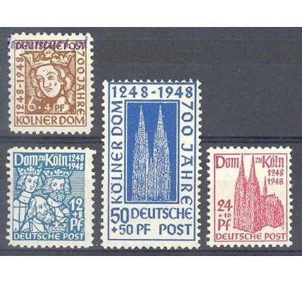 Znaczek Niemcy 1948 Mi 69-72 Czyste **