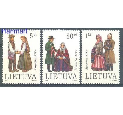 Znaczek Litwa 1994 Mi 557-559 Czyste **
