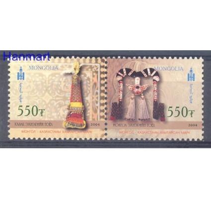 Znaczek Mongolia 2004 Mi 3547-3548 Czyste **