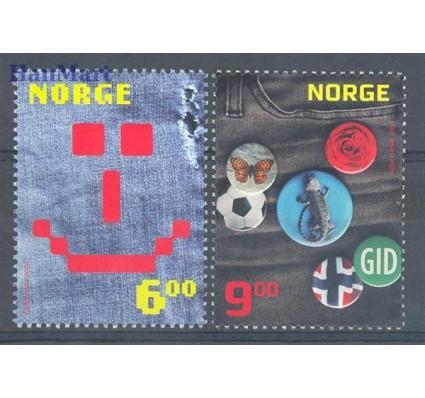 Znaczek Norwegia 2004 Mi 1511-1512 Czyste **