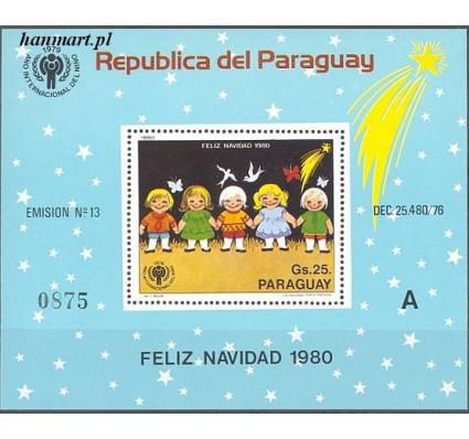 Znaczek Paragwaj 1980 Mi bl 355 Czyste **