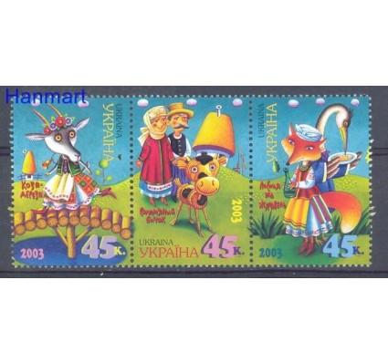 Znaczek Ukraina 2003 Mi 548-550 Czyste **