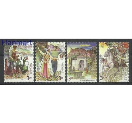 Znaczek Ukraina 2015 Mi 1472-1475 Czyste **