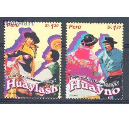 Znaczek Peru 2004 Mi 1936-1937 Czyste **