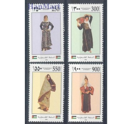 Znaczek Palestyna 1995 Mi 33-36 Czyste **