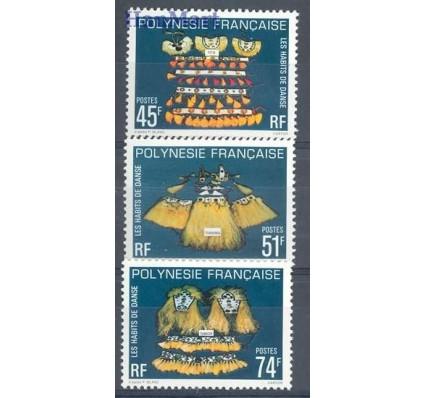 Znaczek Polinezja Francuska 1979 Mi 287-289 Czyste **