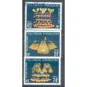 Polinezja Francuska 1979 Mi 287-289 Czyste **