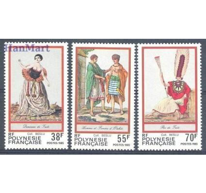 Znaczek Polinezja Francuska 1985 Mi 431-433 Czyste **