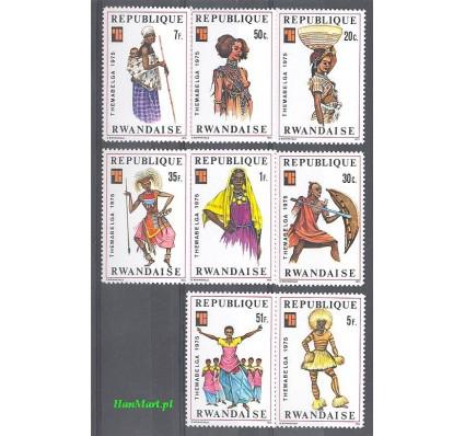 Znaczek Rwanda 1975 Mi 766-773 Czyste **