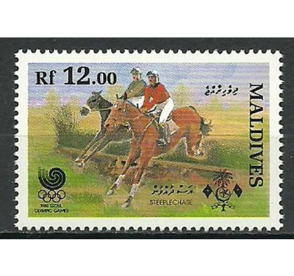 Znaczek Malediwy 1988 Mi 1310 Czyste **