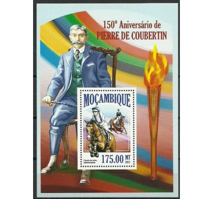 Znaczek Mozambik 2013 Mi bl 810 Czyste **