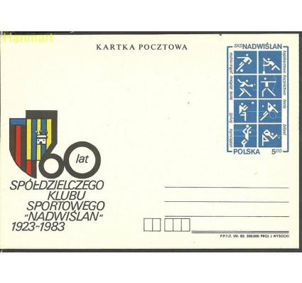 Znaczek Polska 1983 Fi Cp 841 Całostka pocztowa