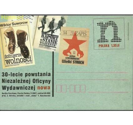 Znaczek Polska 2007 Fi Cp 1430 Całostka pocztowa