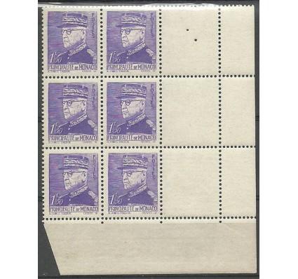 Znaczek Monako 1941 Mi zf 262 Czyste **