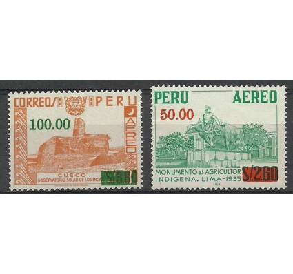 Znaczek Peru 1977 Mi 145-146 Czyste **