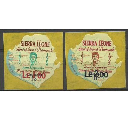 Znaczek Sierra Leone 1965 Mi 300-301 Czyste **