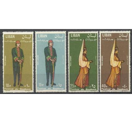 Znaczek Liban 1965 Mi 884-887 Czyste **