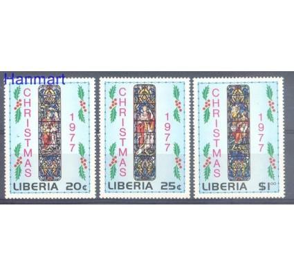 Znaczek Liberia 1977 Mi 1044-1046 Czyste **