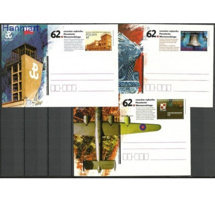 Znaczek Polska 2006 Fi Cp 1407-1409 Całostka pocztowa