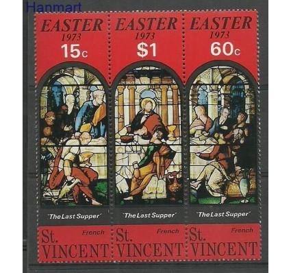 Znaczek St. Vincent 1973 Mi 329-331 Czyste **