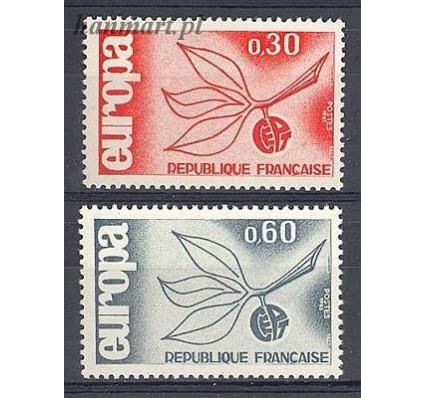 Znaczek Francja 1965 Mi 1521-1522 Czyste **