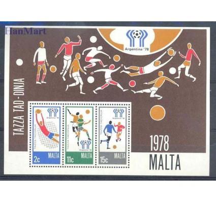 Znaczek Malta 1978 Mi bl 5 Czyste **