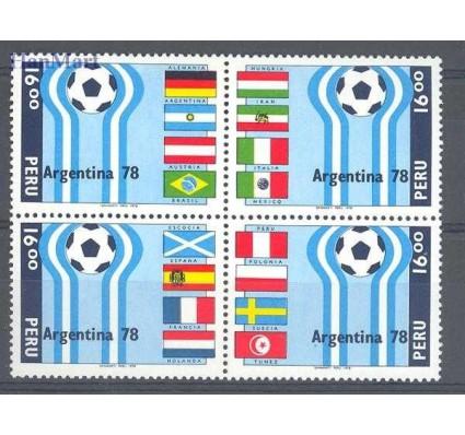 Znaczek Peru 1978 Mi 1106-1109 Czyste **