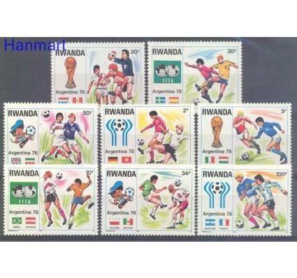 Znaczek Rwanda 1978 Mi 944-951 Czyste **