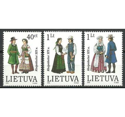 Znaczek Litwa 1996 Mi 610-612 Czyste **